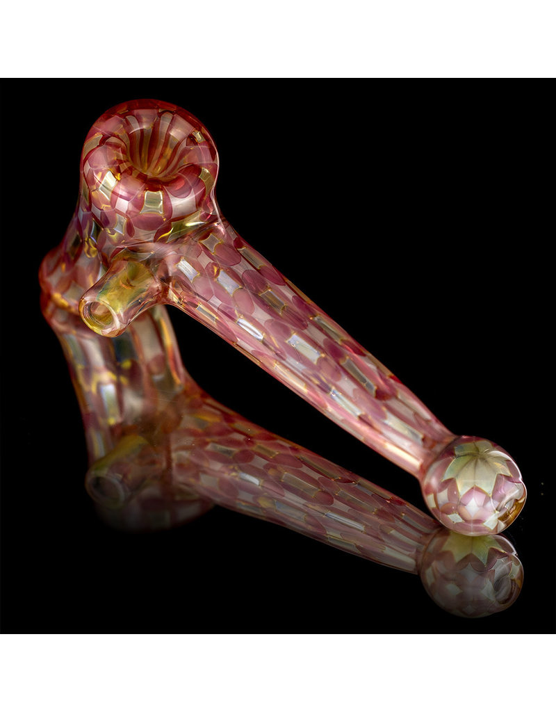 Sugar Reid Glass Dot Box Glass Hammer Dry Pipe Sugar Reid Daily Driver