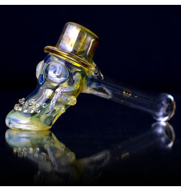 Bob Snodgrass SOLD Glass Pipe DRY Bob Snodgrass Top Hat (Y)