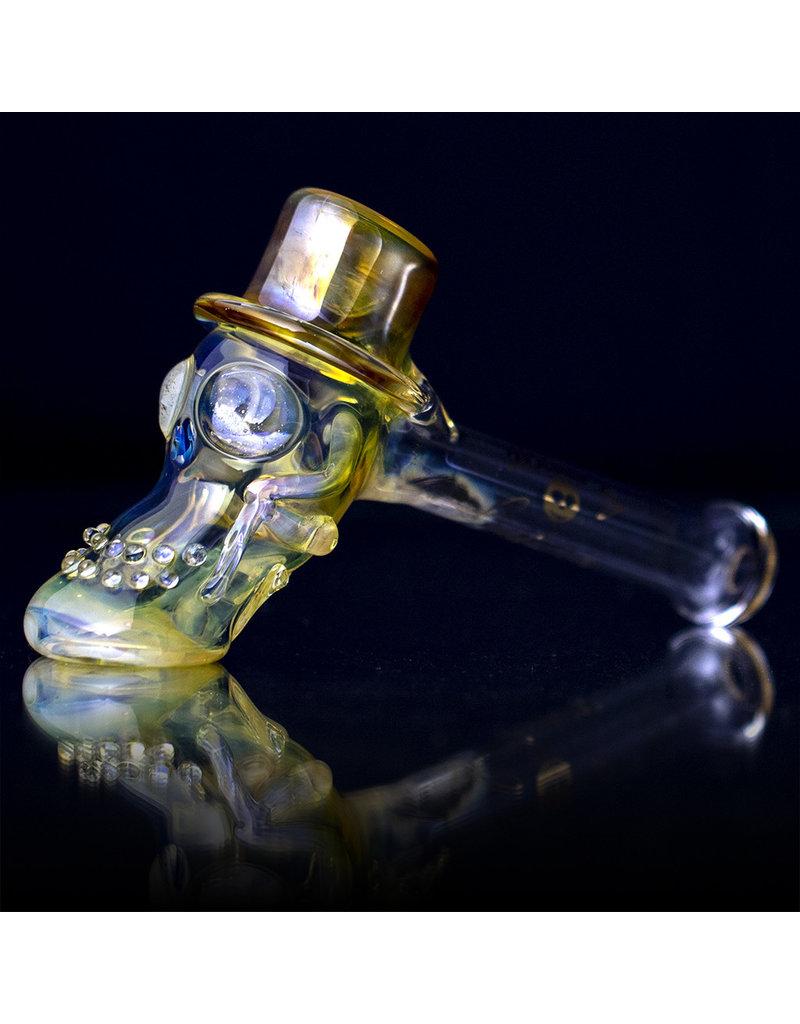 Bob Snodgrass Glass Pipe DRY Bob Snodgrass Top Hat (Y)
