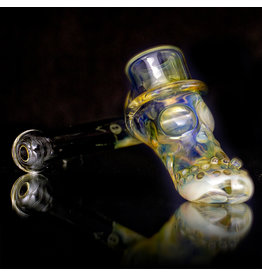 Bob Snodgrass SOLD Glass Pipe DRY Bob Snodgrass Top Hat (X)