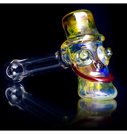 Bob Snodgrass Glass Pipe DRY Bob Snodgrass UV Mr Happy Pipe