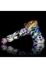 Cameron Tower Glass Pipe DRY Cameron Tower Color Splash Hammer (B)