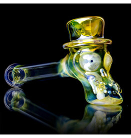 Ginny Snodgrass-Gietl SOLD Glass Pipe DRY Ginny Snodgrass-Gietl Top Hat (K)
