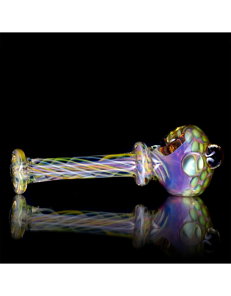 Gasp Glass Pipe DRY Gasp Fume Spoon (A)