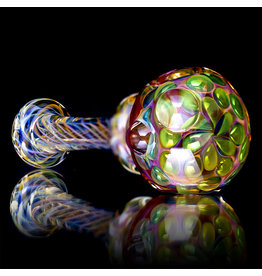 Gasp SOLD Glass Pipe Dry Gasp Fume Spoon (B)
