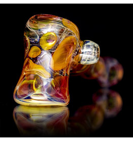 Brad Tenner SOLD Glass Pipe DRY Fume Hammer (B) Brad Tenner