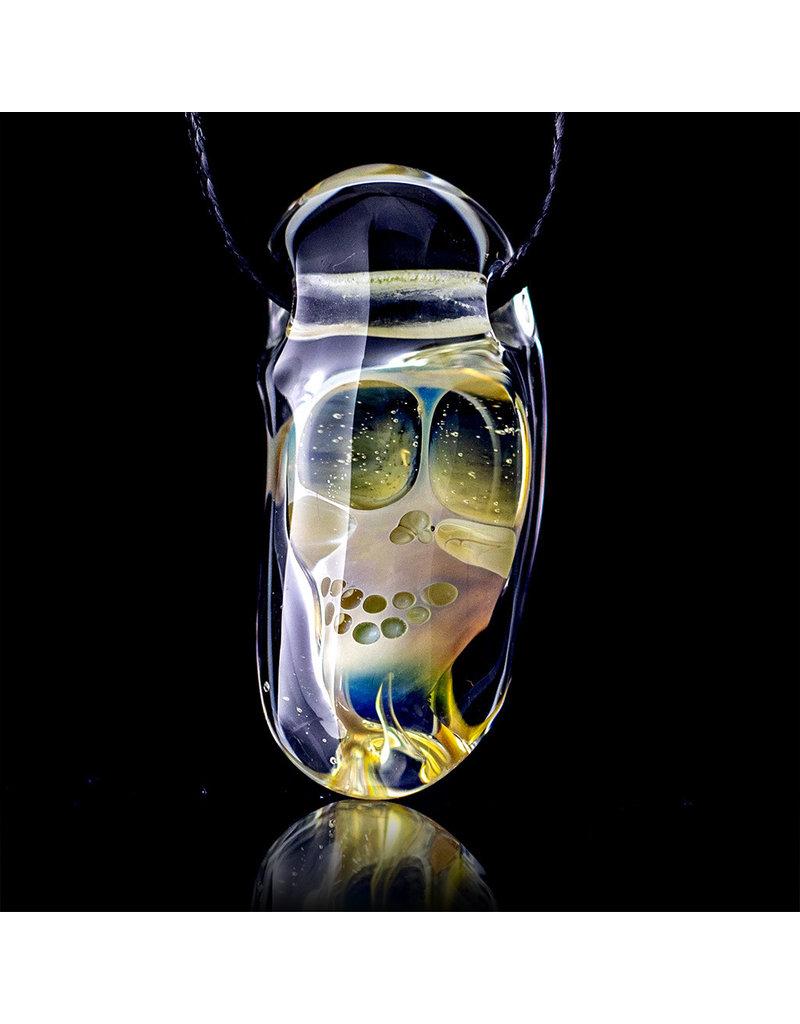 Bob Snodgrass Glass Pendant Bob Snodgrass Skull (B)