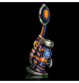 Mike Fro SOLD 10mm Dewar Joint Bubbler Water Pipe by Mike Fro (A)