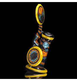 Mike Fro SOLD Glass Bubbler Water Pipe Fully Worked (A) by Mike Fro