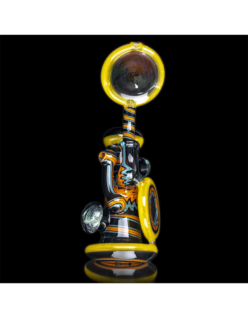 Mike Fro Glass Bubbler Water Pipe Fully Worked (A) by Mike Fro