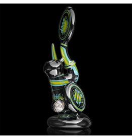 Mike Fro SOLD 10mm Dewar Joint Bubbler Water Pipe by Mike Fro (B)
