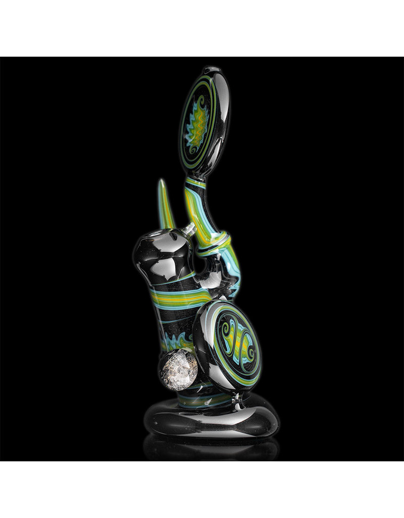 Mike Fro 10mm Dewar Joint Bubbler Water Pipe by Mike Fro (B)