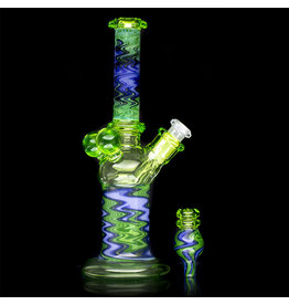 Kyle White SOLD 10mm Dab Rig GREEN Mini Tube by Kyle White