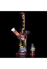 Kyle White 10mm Dab Rig RED Mini Tube by Kyle White