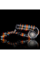 Mike Fro Fully Worked Glass Sherlock Dry Pipe by Mike Fro (J)