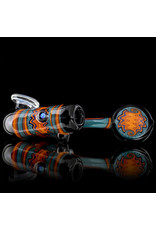 Mike Fro Fully Worked Glass Sherlock Dry Pipe by Mike Fro (H)