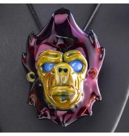 Blu Sun Glass SOLD Glass Pendant Wook #170 by Blu Sun