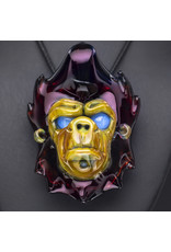 Blu Sun Glass Glass Pendant Wook #170 by Blu Sun