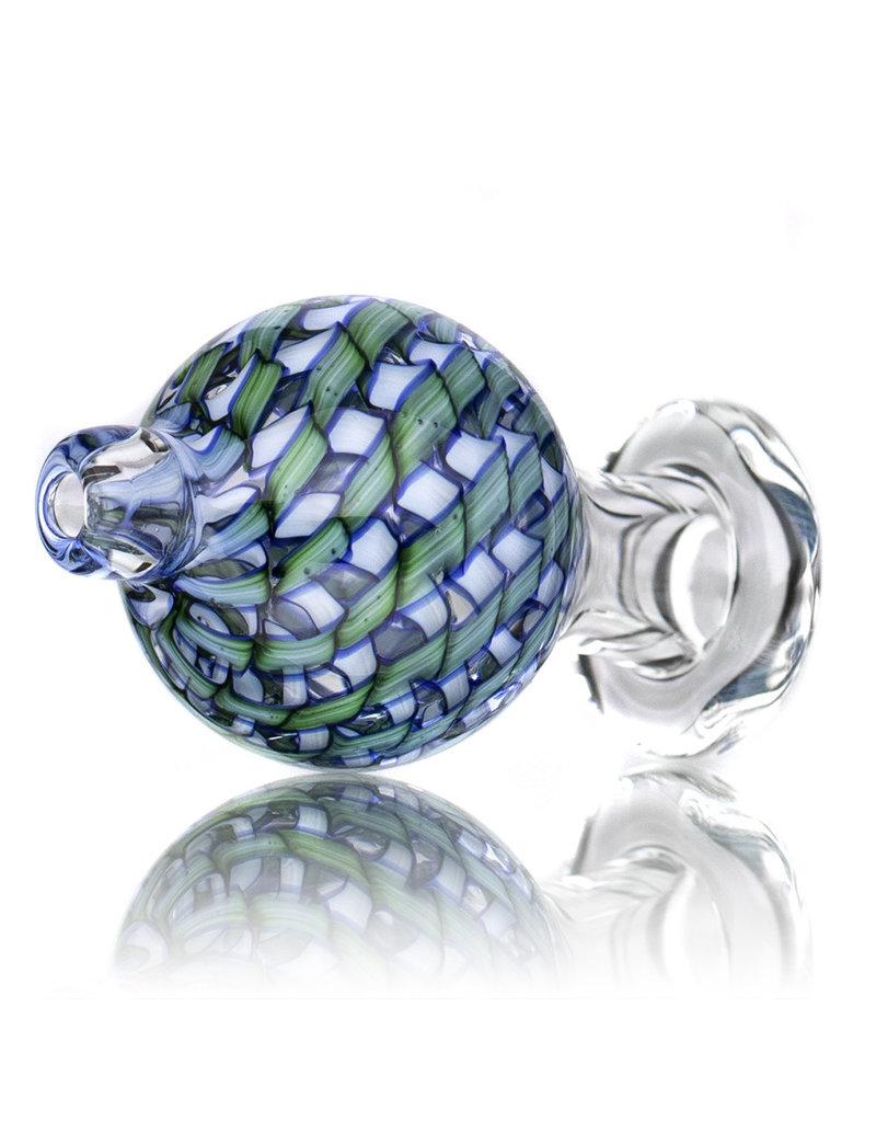 Keith Engelmann Carb Cap 25mm Bubble Cap GREEN Ribbon Coil by Keith Engelmann