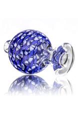 Keith Engelmann Carb Cap 25mm Bubble Cap BLUE Ribbon Coil by Keith Engelmann