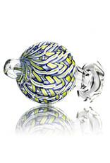 Keith Engelmann Carb Cap 25mm Bubble Cap YELLOW Ribbon Coil by Keith Engelmann