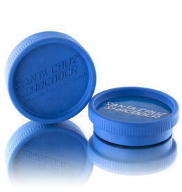 Santa Cruz Shredder BLUE 2 Piece Grinder MADE 100% from HEMP by Santa Cruz Shredder (other colors available)