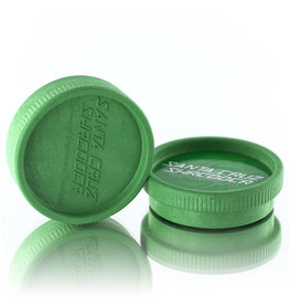 Santa Cruz Shredder GREEN 2 Piece Grinder MADE 100% from HEMP by Santa Cruz Shredder