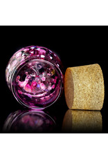 Special K Glass Nug Storage Jar for Dry Herbs Handcrafted by Special K Glass (C)