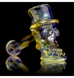 Bob Snodgrass SOLD Glass Pipe DRY Bob Snodgrass Top Hat #23