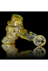 Bob Snodgrass Glass Pipe DRY Top Hat with Carbon Can and UV Signature by Bob Snodgrass