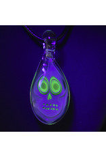 Ginny Snodgrass-Gietl Glass Pendant with UV Accents (A) by Ginny Snodgrass-Gietl