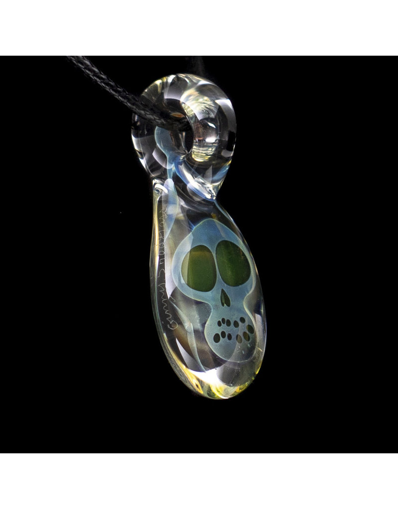 Ginny Snodgrass-Gietl Glass Pendant with UV Accents (B) by Ginny Snodgrass-Gietl