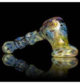 Brad Tenner SOLD Glass Pipe Pocket Bubbler (E) by Brad Tenner BT Glass