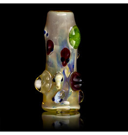 Bob Snodgrass Glass Bead with UV Accents Alien Bead (A) by Bob Snodgrass