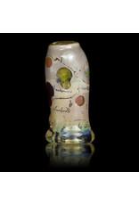 Bob Snodgrass Glass Bead with UV Accents Alien Bead (B) by Bob Snodgrass