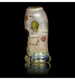 Bob Snodgrass Glass Bead with UV Accents Alien Bead (B) by Bob Snodgrass