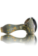 Stone Tech Glass Glass Pipe DRY Crushed Opal Cap Stone Pipe (B) by Stone Tech Glass