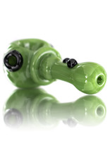 Soursilicate Glass Pipe DRY Hand Pulled JADE Northstar Glass by Soursilicate