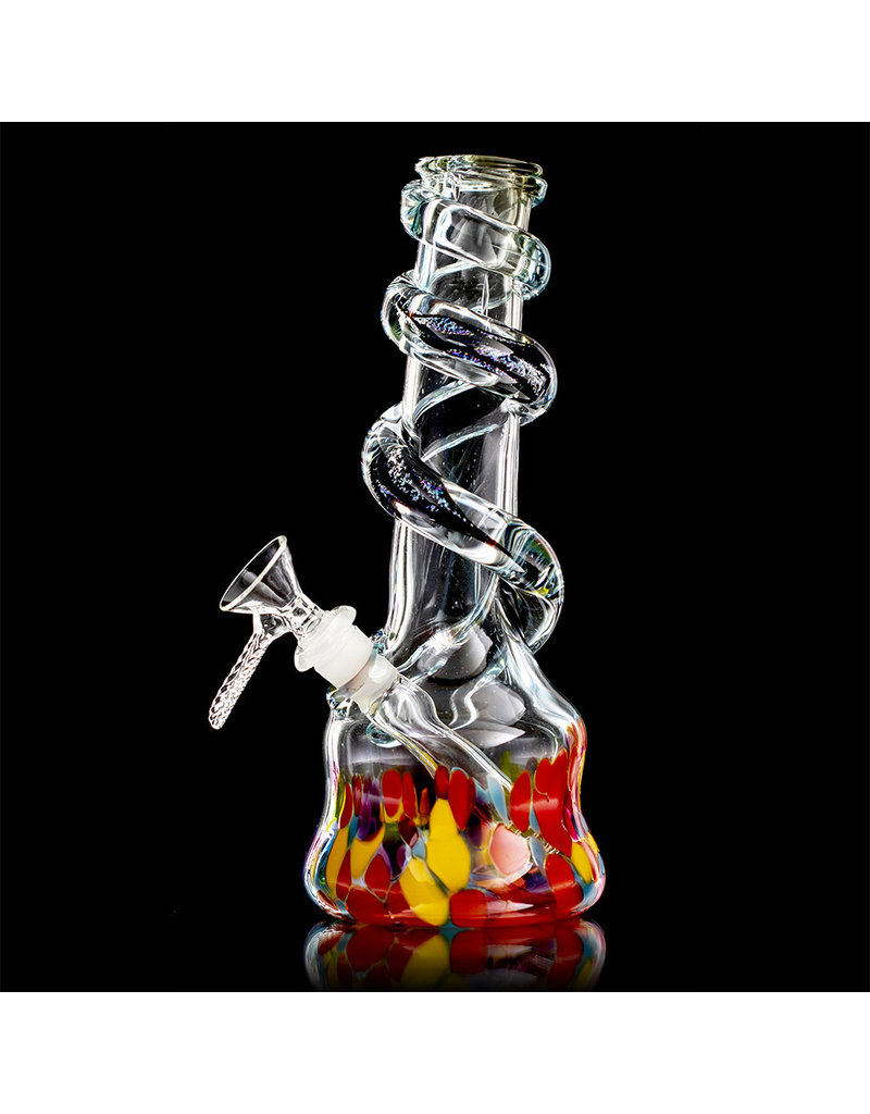 Special K Special K Soft Glass Water Bong Small Wrapped Color (D)