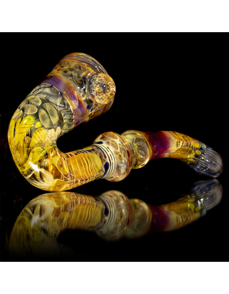 Glass Sherlock Dry Pipe '1995' Style by Stan Alba