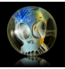 Bob Snodgrass Glass Skull Marble (E) by Bob Snodgrass