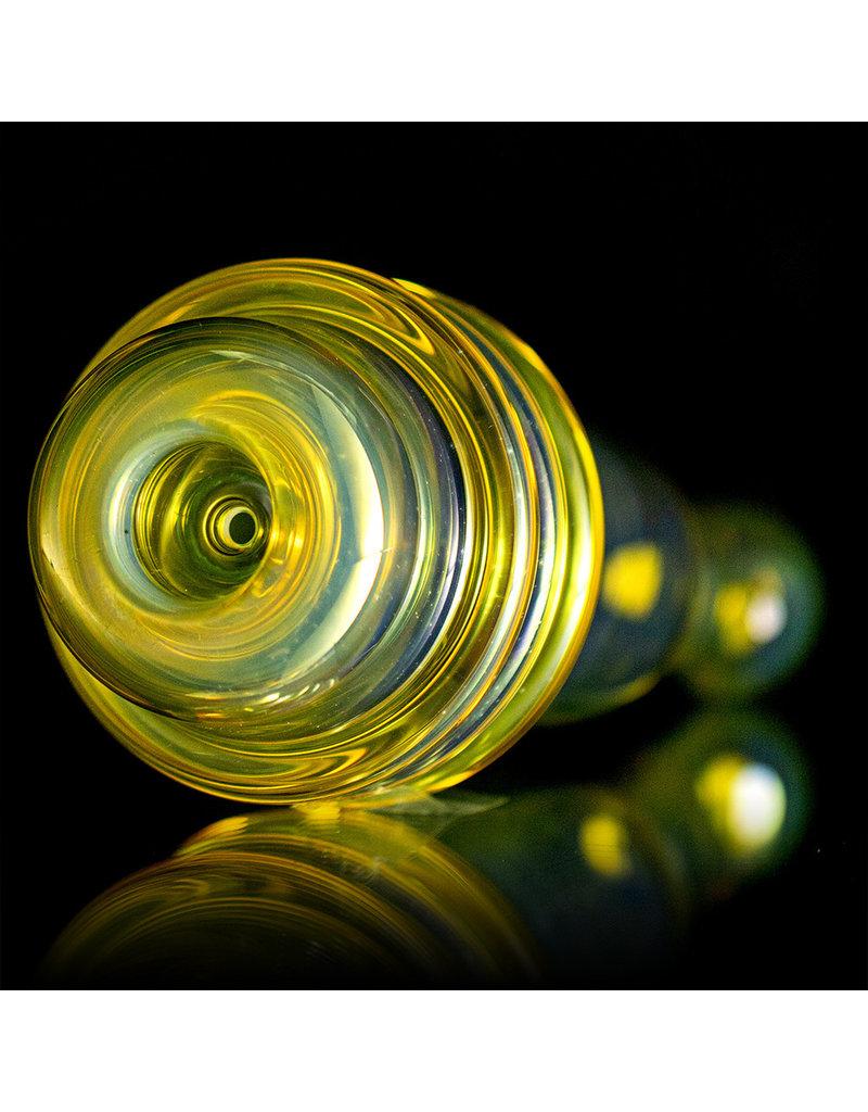Steven Stotts Glass Chillum One Hitter XL Triple Maria by Steve Stotts