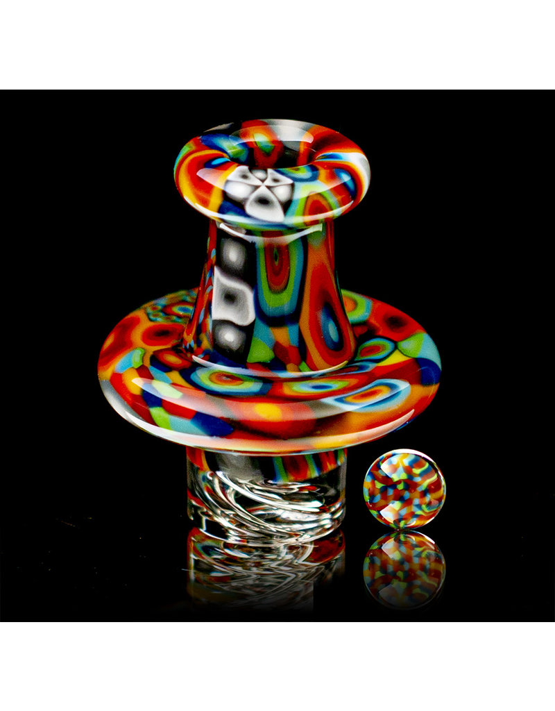 Hollinger Directional Airflow Carb Cap (C) Bulls Eye Spinner Set by Zach Hollinger