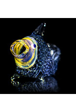 Key Glass Co Glass Pipe Dry One Hitter Fish Coil (B) by Key Glass Company