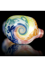 Sqwash Glass Glass Pipe Dry Rainbow Vine Spoon Pipe (A) by Sqwash Glass