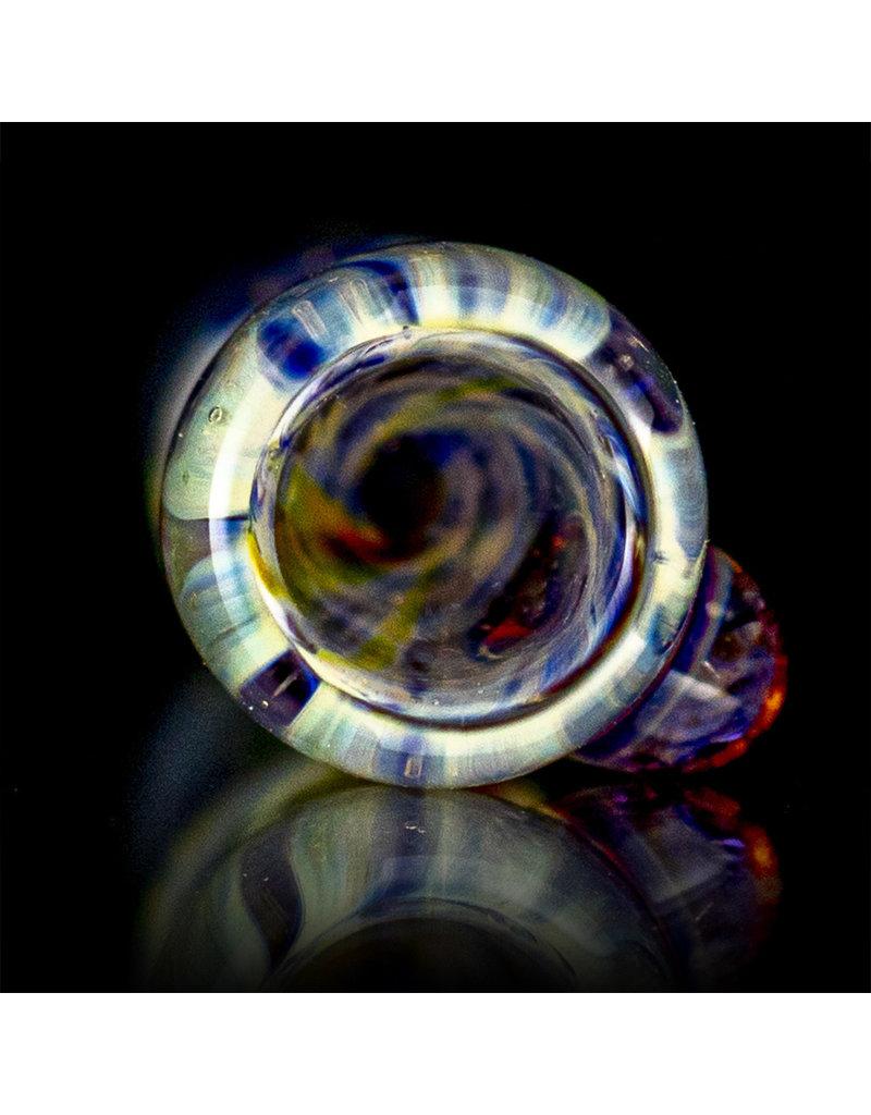 BEAK Glass 3 Piece Glass Dry Pipe Set SPARKLE FUME by Beak Glass