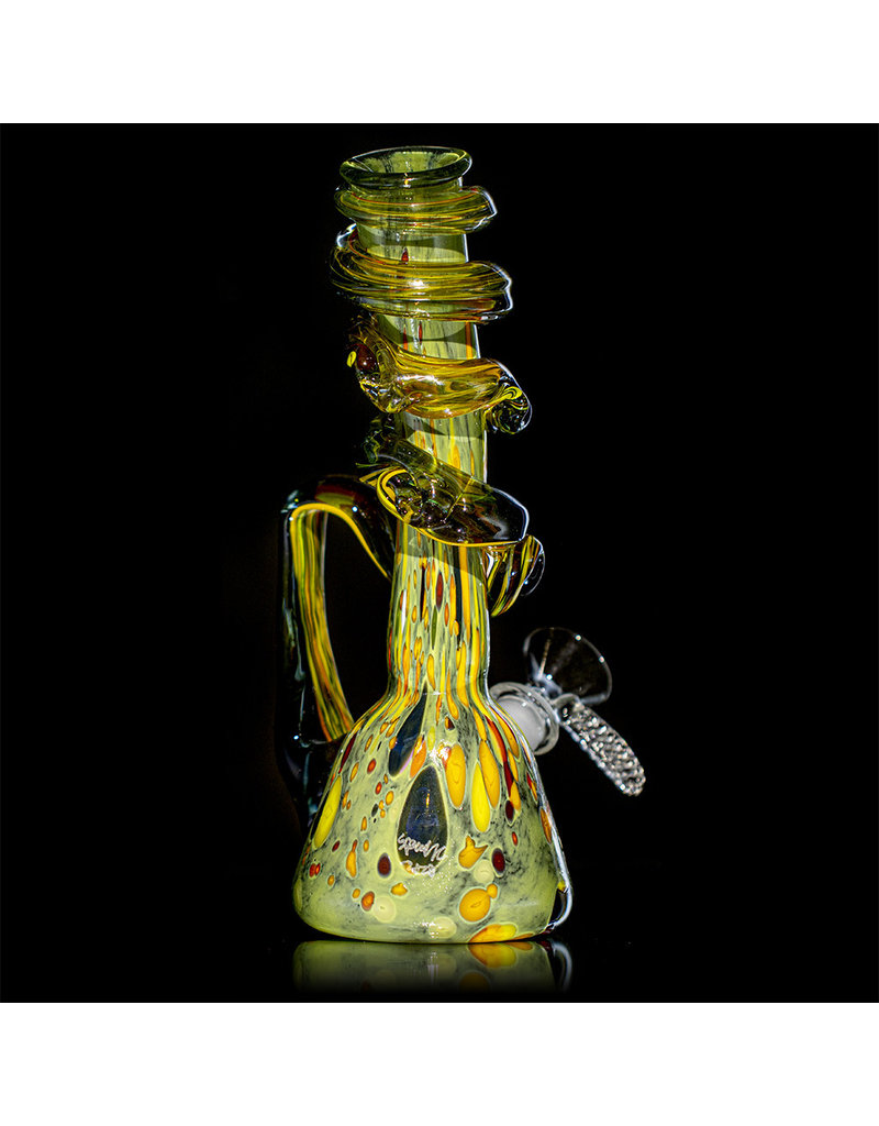 """Special K 14mm 9"""" Special K Soft Glass Water Bong Small Wrapped Color (I))"""
