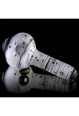 Witch DR Glass Spoon Pipe dry LUNAR Classic Birch (A) by Kevin Engelmann