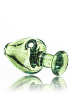Witch DR Puffco Peak Bubble Carb Cap Translucent PALE GREEN by Witch Dr