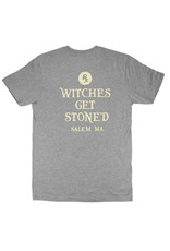 Witch DR Witches Get Stoned Gray T-Shirt